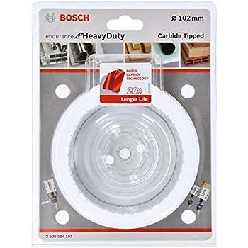/Ø 40 mm, pour perceuse sans Fil et Filet , Bosch 2608594169 Scie Cloche Ronde Endurance pour Heavy Duty