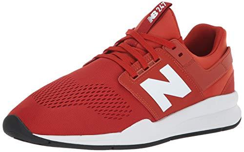 New Balance Herren 247v2 Sneaker, Rot (Vintage Russet/White Es), 42 EU -