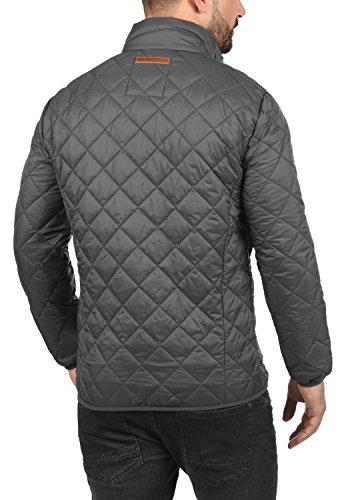 BLEND Stanley Herren Übergangsjacke Stepp-Jacke mit Stehkragen aus hochwertiger Materialqualität Castlerock Grey