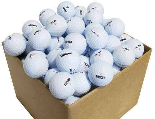 Second Chance Wilson Ultra 100 Balles de golf de...