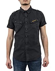 CAMISA SUPERDRY M40004E0-ZVD ULTRA LIGHT MARINO