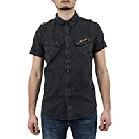 Superdry Camisa M40004E0-ZVD Ultra Light Marino
