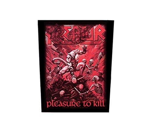 Kreator-Pleasure to Kill [Schiena toppa, Stampa] [bp611]