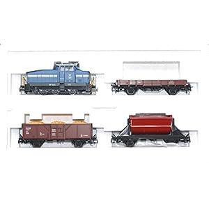 41U74WtLF9L. SS300  - Märklin H0 94425 Güterzug-Packung Diesellok DHG 500 + 3 Güterwagen Digital Neu