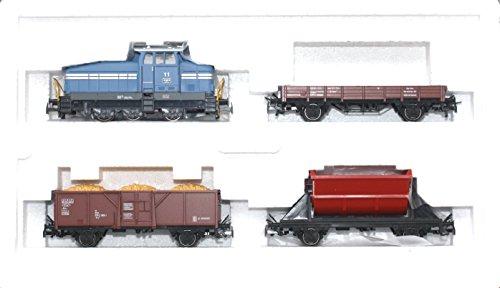 41U74WtLF9L - Märklin H0 94425 Güterzug-Packung Diesellok DHG 500 + 3 Güterwagen Digital Neu