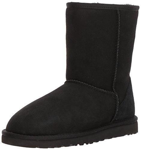 Herren Stiefel UGG 5800 Classic Short, Schwarz (Black), 48.5 - Classic Schwarz Boots Short Ugg