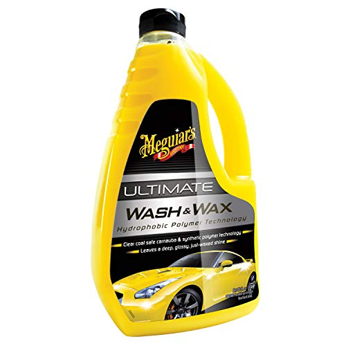 Meguiar's Car Care Products G17748 Ultimate Wash & Wax Producto de Limpieza para...
