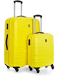 5844bf5ea92df Revelation Amalfi 2 Piece Suitcase Set Large and Cabin Yellow, Size: N/A