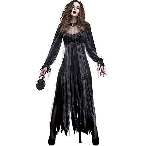 Walking Dead Woman Kostüm - FHSIANN Lady Halloween Gothic Horror Walking
