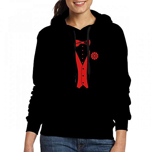 Sweatshirt In Women Classic Tuxedo Custom Pullover Hoodie