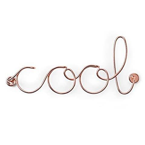 Umbra Wired Cool Wall Decor, Copper