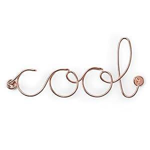 Umbra Wired Cool Fil di Ferro, Metallo, Rame, 32.38 x 13.715 x 7.62 cm, 3 Unità