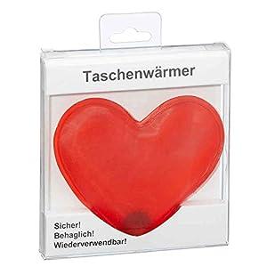 itsisa Taschenwärmer Herz – Wichtelgeschenk, Handwärmer, Taschenheizkissen