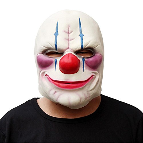 SQCOOL Halloween Maske Lustige Horror Weihnachten Masquerade Show Props Hochwertige Latex Spielzeug , A