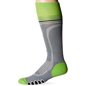 Eurosocks 3211Silber Supreme OTC Ski Socken mit drystat Feuchtigkeit Kontrolle–Paar