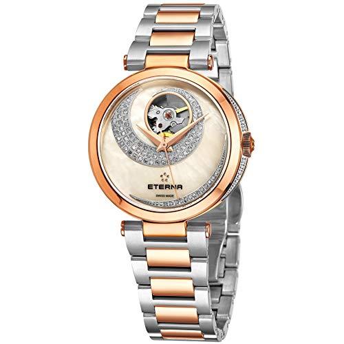 Eterna Grace Open Art Reloj de Mujer Diamante automático 34mm 2943-60-69-1730