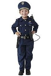 Dress Up America Deluxe Polizei Dress Up Kostüm Set - Alter 4-6