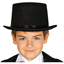 Guirca - Sombrero chistera fieltro infantil, Talla única (13680.0)