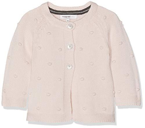 Noppies Baby-Mädchen Strickjacke G Cardigan Knit ls Waterloo, Rosa (Blush C093), 62