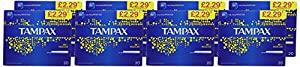 Tampax Blue Box Regular Tampons - Pack of 160