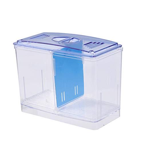 POPETPOP Aquarium Züchter Box Aquarium Zucht Tank Brutkasten für zu Hause Fisch Brut Fisch liefert (unabhängige Inkubator)