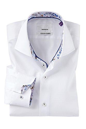 Bäumler -  Camicia classiche  - Uomo Bianco