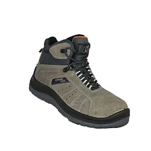 opsial Step Doc S1P src Chaussures de trekking Chaussures de sécurité haute Gris Gris