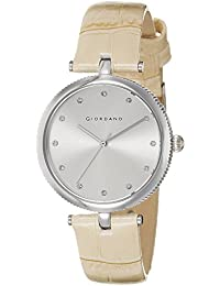 Giordano Analog Silver Dial Women's Watch - A2038-01