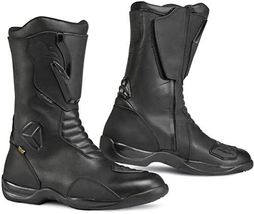 Falco Kodo 2impermeabile approvato da moto touring stivali nero