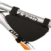 Roswheel Nero Bici Bicicletta Telaio Borsa Bike Pannier Frontal Sacchetto