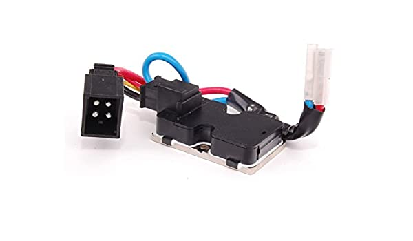 Riscaldatore Ventilatore Resistore REGOLATORE PER MERCEDES BENZ CLASSE S W140 C140 1408218351