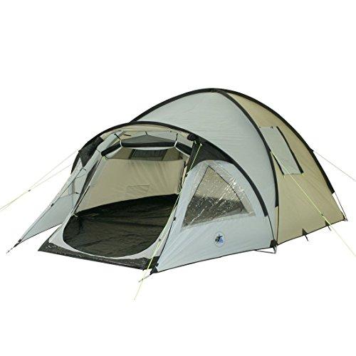 10T Zelt Glenhill Stone 4 Mann Kuppelzelt FULL-XXL Schlafkabine wasserdichtes 5000mm Campingzelt