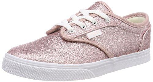 Vans Mädchen Atwood Low Missy Sneaker, Pink ((Glitter) Heavenly Pink/True White U33), 38 EU