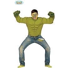 Disfraz de superhéroe Hulk