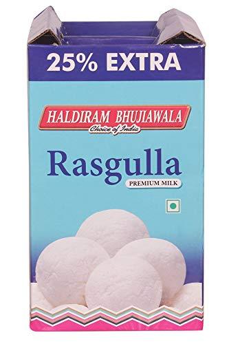 Haldiram Bhujiawala Rasgulla(Premium Milk)