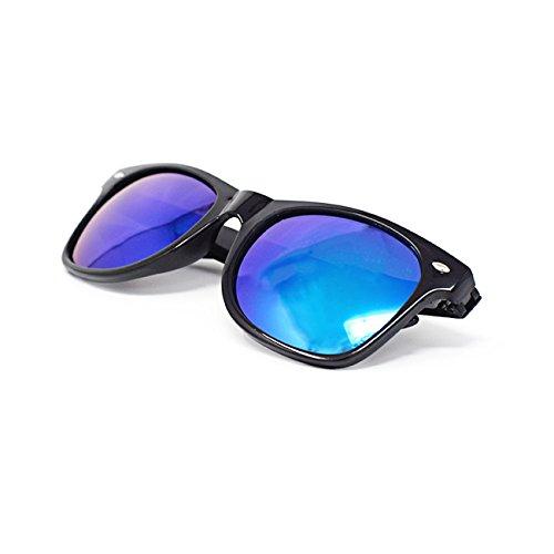 Ultra® noir encadré lunettes avec Gold Silver Green ou lumière bleu lentilles adultes classique Style léger lunettes de soleil UV400 UVA UVB Cadre noir Revo lentilles