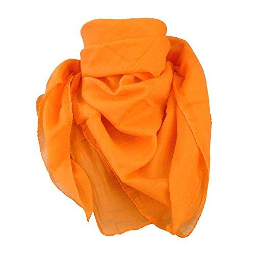 Baumwolltuch Lurextuch Kufiya Shemagh Baumwolltücher Kopftuch Nickituch Bandana Langschal Halstuch mit Pentagramm Palituch 100cm x 100cm schwere indische Qualität (20182-324-0000)