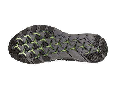 Nike  Free Train Force Flyknit, Sneakers homme Gris (gris foncé / blanc - noir - électrique)