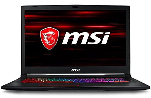 MSI Gaming MSI GE73 8RF-024IN 2018 17.3-inch Laptop (8th Gen Core i7-8750H/16GB/1TB/Windows 10/8GB Graphics), Black image