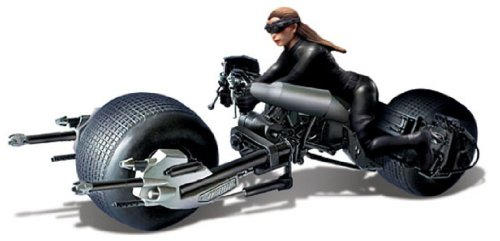 Unbekannt Moebius The Dark Knight Rises: BATPOD mit Catwoman 1: 18 Model Kit