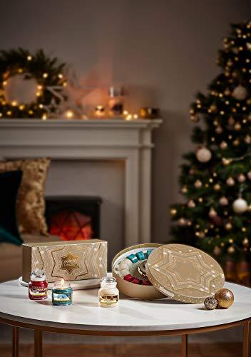 Yankee Candle Delight Set Regalo Con 18 Candele Tea Light Profumate e Portacandela