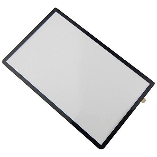 Preisvergleich Produktbild Nintendo 3DS XL Frontglas Displayglas Scheibe für oberes Display Schwarz - ToKa-Versand®