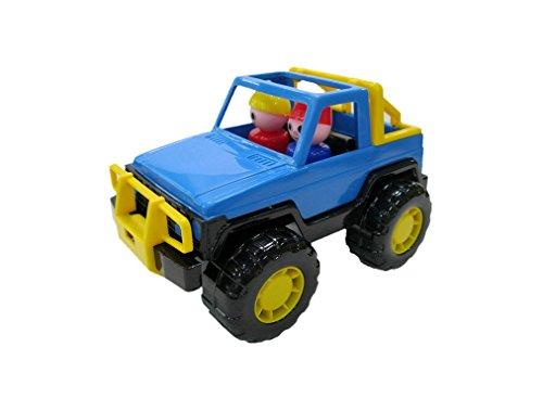 Polesie - Juguete para Arrastrar Jeep (PW36643)