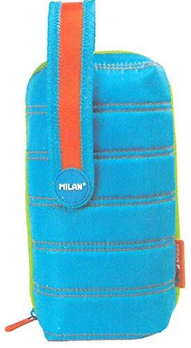 Estuche milan kit 4 estuches con contenido colours azul
