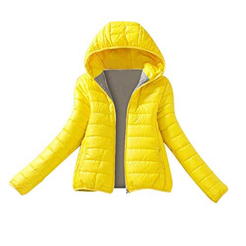 Kostüm Jahre Jean 80er Jacke - Sunnyuk Woman Slim-fit Steppjacke warm-gefüttert Daunen-Jacke für mädchen Teenager schwarz Sweat-Jacke 80er Jahre Sakko Retro Winddicht Freizeit