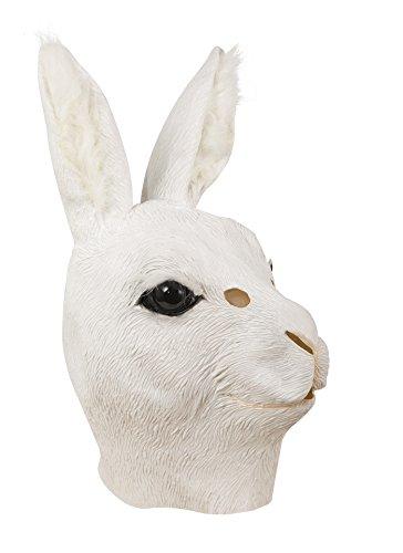 P 'tit payaso 41104máscara adulto látex completo conejo, talla única