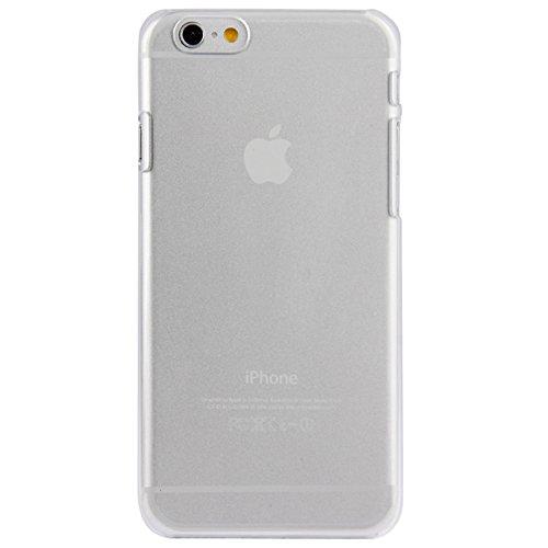 Phone case & Hülle Für IPhone 6 u. 6S, Qualitäts-reiner Farben-Kristallkasten für IPhone 6 u. 6S ( Color : Transparent ) Transparent