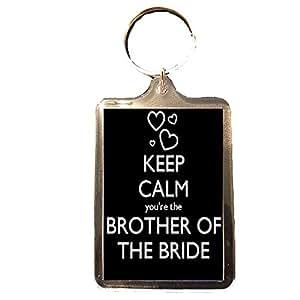Amazon Wedding Gift List Uk : ... the Bride - Keep Calm Wedding Keyring: Amazon.co.uk: Sports & Outdoors