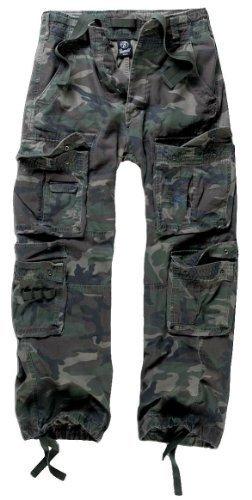 Brandit Pure Vintage - Pantalón de Carga, Nero, 7XL-