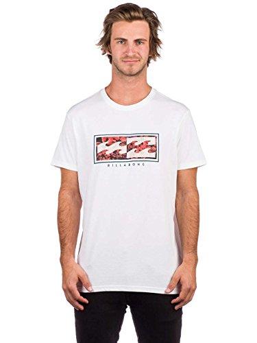 BILLABONG Inversed tee SS Camiseta, Hombre, Blanco (White 10), Medium (Tamaño del Fabricante:M)